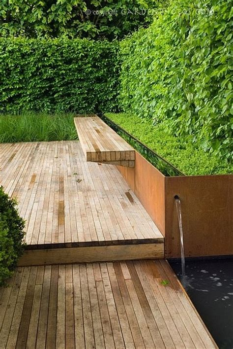 garden bench made from decking 813 best pictures of decks images on pinterest deck