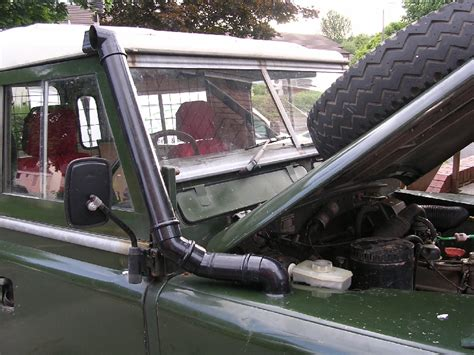land rover snorkel build yourself a series land rover snorkel on the cheap