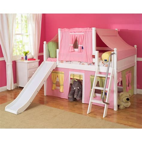 Bunk Bed With Slide And Desk by Loft Bed With Stairs Tumidei Loft Beds For Sale Beds