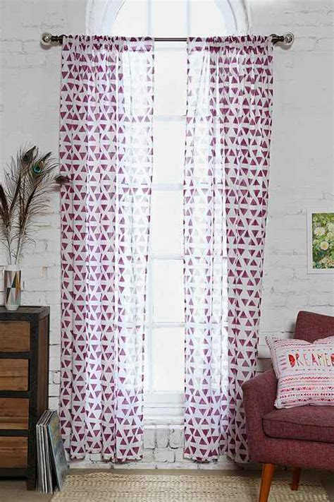 Magical Thinking Curtains Magical Thinking Triangle Curtain Outfitters