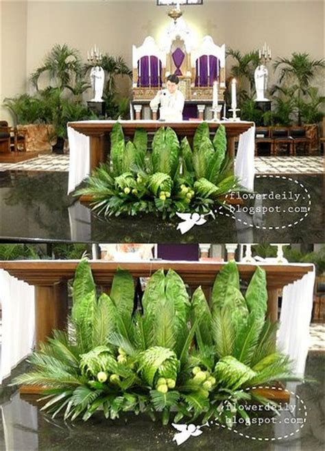 easter decorations for church sanctuary   Palm Sunday