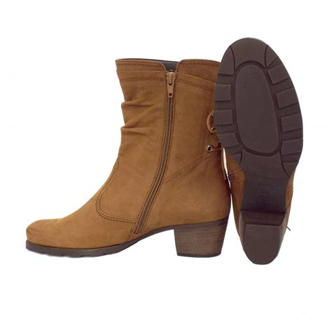 gabor boots sonic comfortable boots in brown