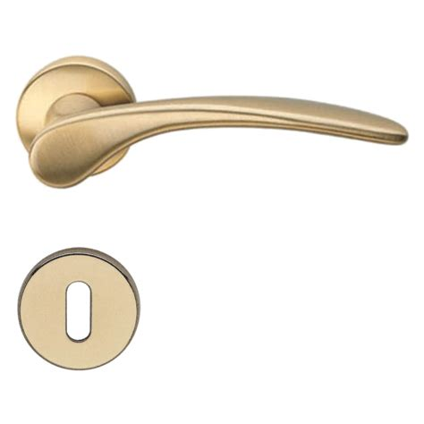 Brass Interior Door Handles Door Handle H198 Mizar Interior Satin Brass Brass Door Handles Villahus Co Uk