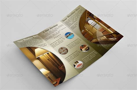 hotel brochure templates hotel brochure template psd indesign and word format