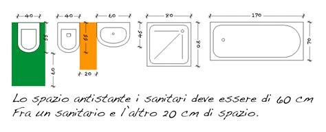Lavabo Bagno Dimensioni by Progetta Da Il Tuo Bagno E La Tua Cucina