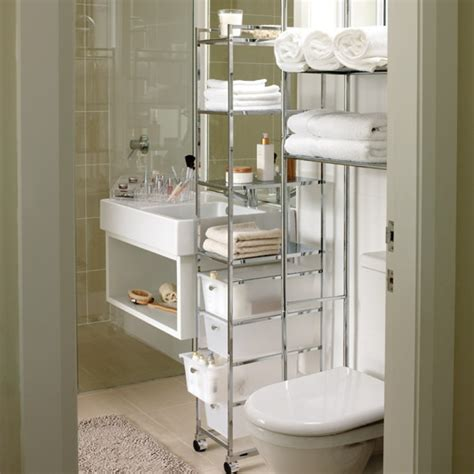 small bathroom shelving storage solutions for a small bathroom