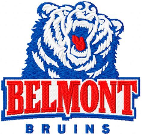 Belmont Designs | belmont bruins logo machine embroidery design