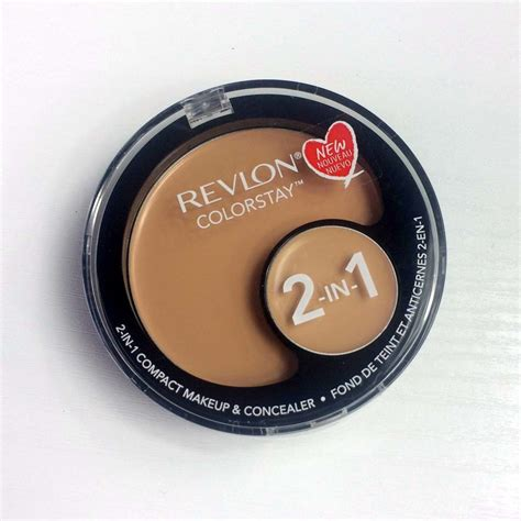 revlon colorstay foundation color match revlon colorstay 2 in 1 compact makeup and concealer review