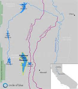 california reservoirs map reservoir in northern california is 20th century