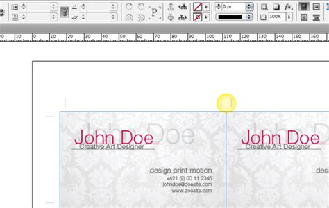 how to make business cards in indesign tip how to impose business cards for digital