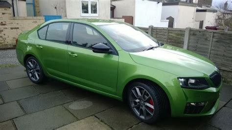 the bird of prey has landed skoda octavia mk iii 2013