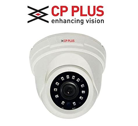 Cp Plus Hdx 1 0 Mp Dome Ir cp plus astra hd ir dome cctv white