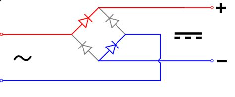 diode bridge op circuit نحوه برق رسانی به فن های بغل کیس بدون استفاده از پاور