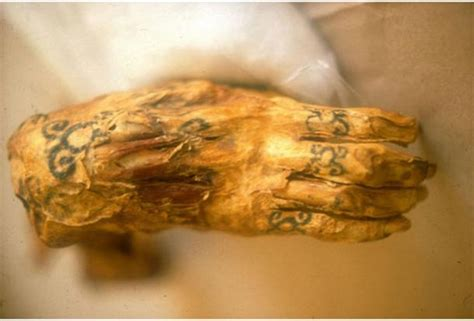 ancient ink mummies and their amazing tattoos ancient
