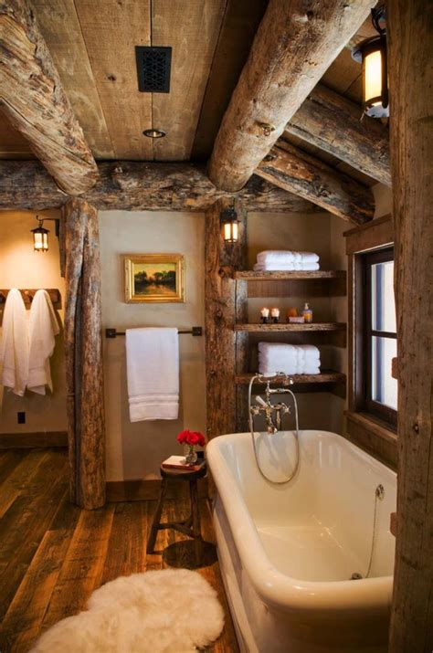 rustic cabin bathroom ideas best rustic bathroom designs ideas on pinterest rustic