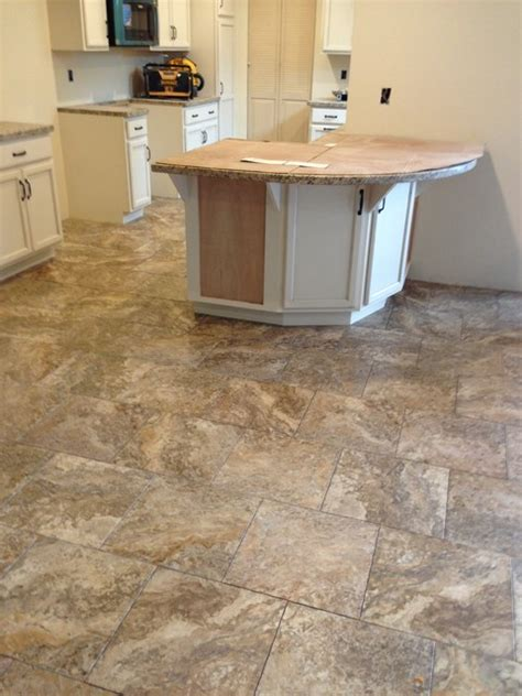 Vinyl Flooring For Kitchens Luxury Vinyl Traditional Kitchen San Francisco By Precision Flooring