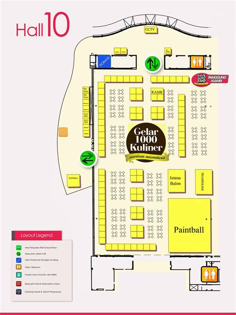 layout ice bsd pekan raya indonesia 2016 kids parents events