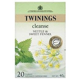 Tea Tonic Detox Tea by Twinings Cleanse Nettle And Fennel Tea Tonic And Detox