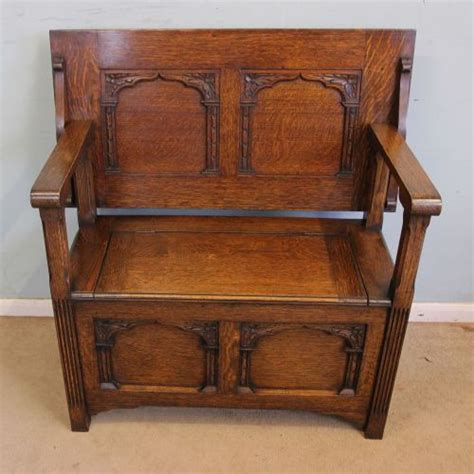 antique monks bench for sale antique oak monks bench settle 462372 sellingantiques