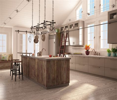 Rough Chic Collection   Transitional   Kitchen   montreal
