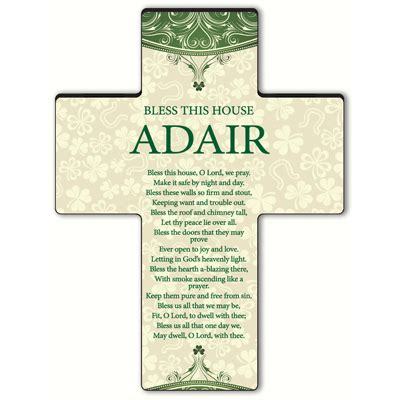 bless this house personalized classic irish cross bless this house at irishshop com jdsgc689bth