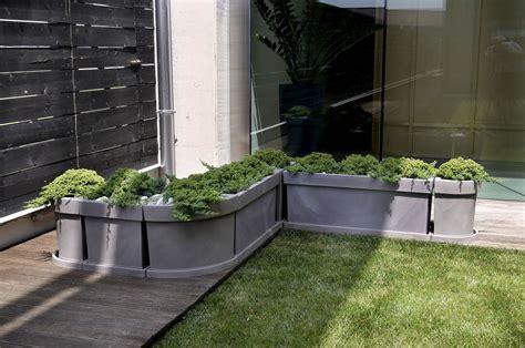 vasi giardino resina vaso a cassetta rettangolare themis nicoli