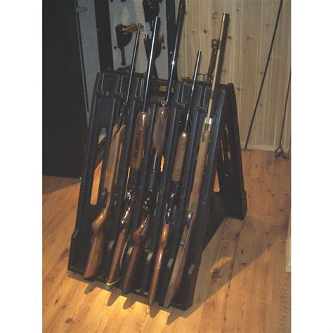 Portable Gun Rack by Snakebite Sam S 12 Gun Portable Gun Rack 129723