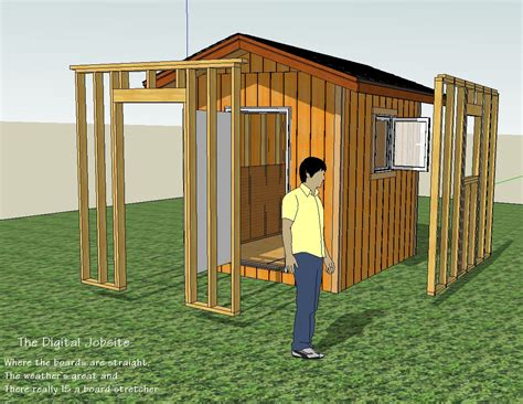 how to build a storage shed frame part 1 framing