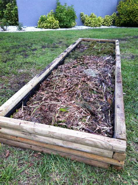 vegetable beds building a raised garden bed 40acrewoods