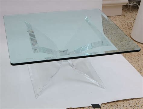 lucite and chrome terrarium coffee table at 1stdibs leon frost lucite and chrome coffee table at 1stdibs