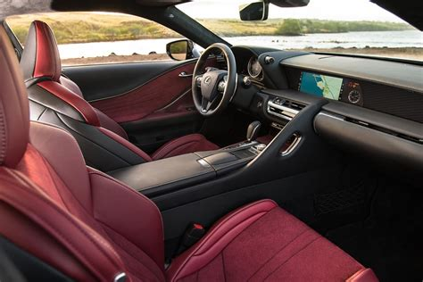lexus car interior 2018 lexus lc 500 named to 2017 wards 10 best interiors list