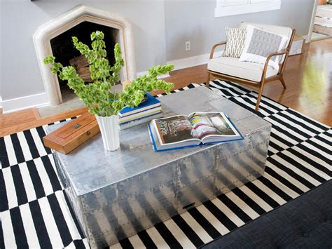 fashioned mirrored trunk coffee table