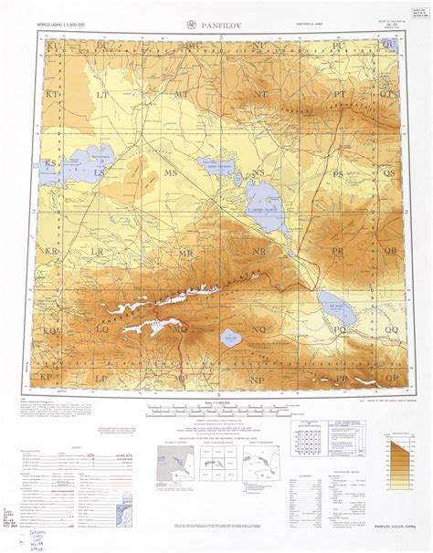 texas mountain ranges map talk tian shan