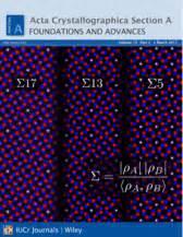 acta crystallographica section e impact factor acta crystallographica wikipedia