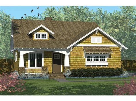 Side Cottages by Eplans Craftsman House Plan Craftsman Cottage With Side