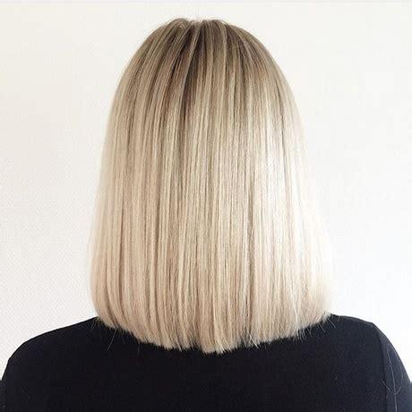back of shoulder length hair back view of shoulder length hair