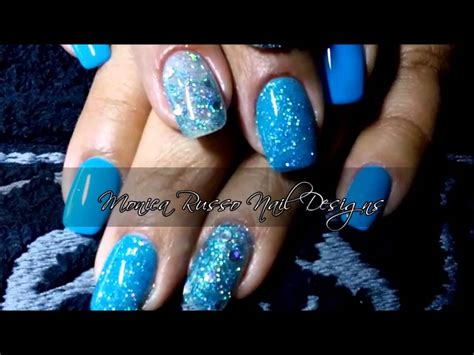 Monica Russo Nail Designs | led nail art by monica russo nail designs youtube