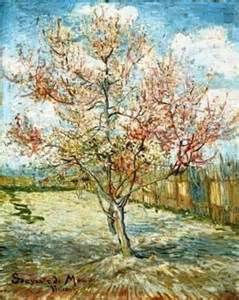 fiori di pesco gogh primavera vincent gogh albero di pesco in fiore