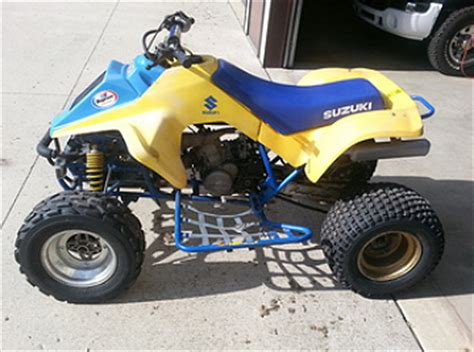 Suzuki Ts250x For Sale Weekly Used Atv Deal 1986 Suzuki Quadracer 250 For Sale