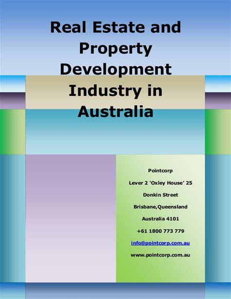 real estate share house real estate and property development industry in australia