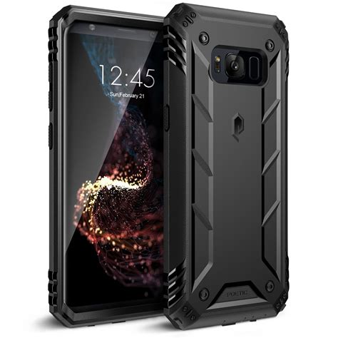 3 Samsung S8 For Samsung Galaxy S8 S8 Plus Poetic Revolotion Rugged Shockproof 3 Color Ebay