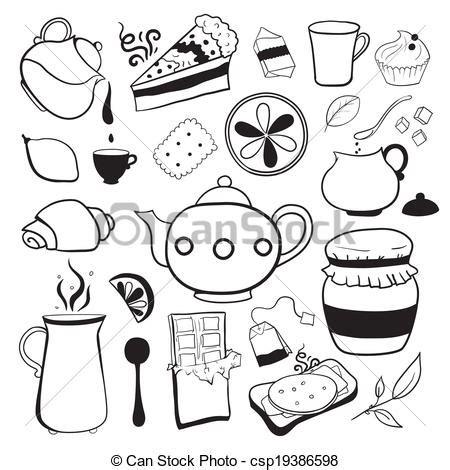 imagenes de objetos a blanco y negro eps vectores de objetos t 233 dulces vector negro blanco