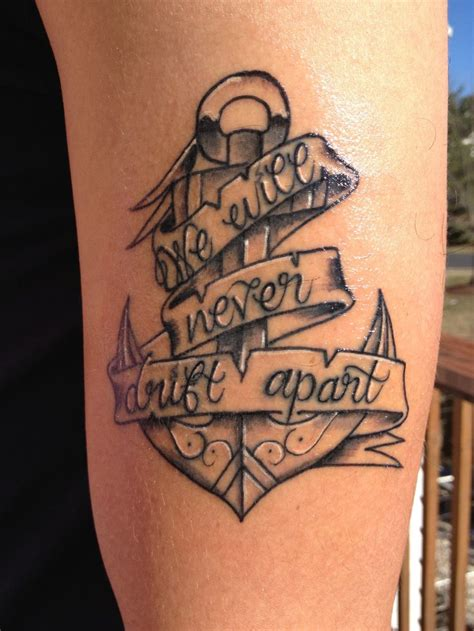 brother tattoo ideas best 25 anchor tattoos ideas on family