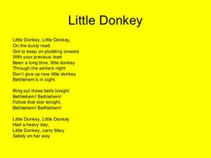 Paint Party Decorations Ideas About Little Donkey Christmas Song Lyrics Easy