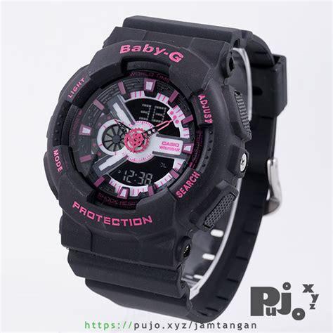 Kelebihan Jam Tangan Baby G jual baby g ba 111 1a black pink jam tangan pujo xyz