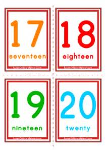 number flashcards printable 1 20 number flashcards classic numbers aussie childcare network