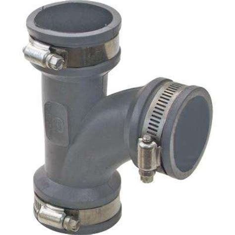 Specialty Plumbing Fittings by Rubber Fittings Specialty Pipe Fittings The Home Depot