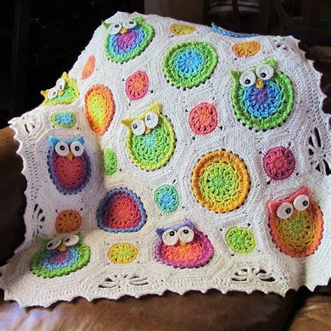 crochet pattern owl baby blanket crochet owl afghan doubsuledecin blogcu com