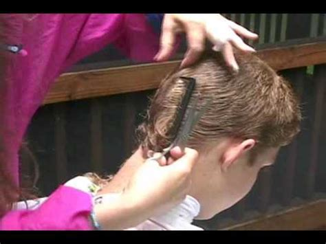 step by step instructions to cut boys hair my step by step haircut for a child boy or man part 2