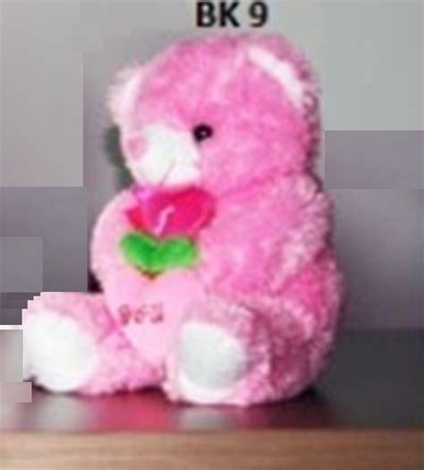 Boneka Beruang Merah Sedang boneka